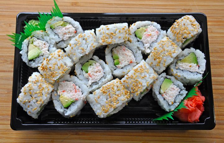 Sushi take out - Perl Photography