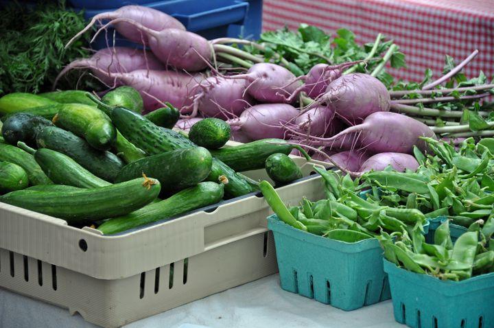 Fresh organic vegetables - Perl Photography