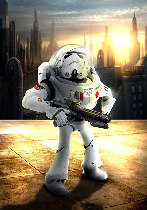 Buzzlightyear as Storm-trooper - BrunoSousa