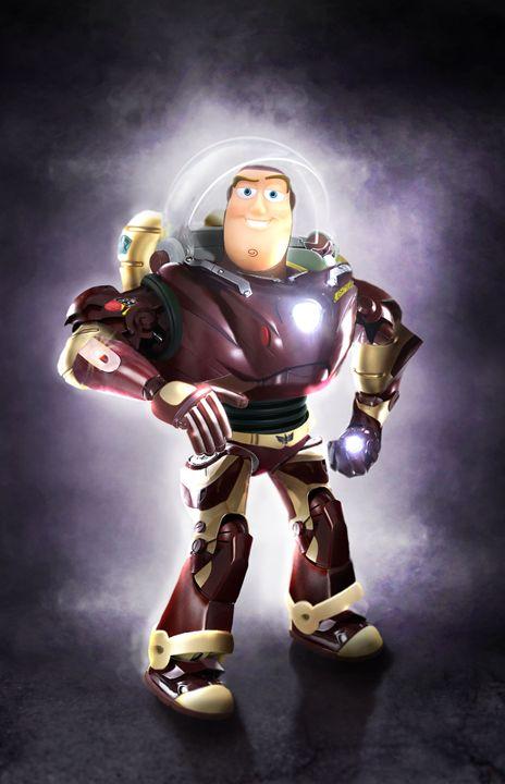 Buzzlightyear as Iron Man - BrunoSousa