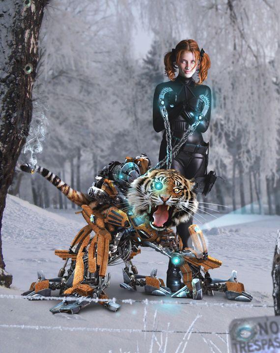 Tiger Robot - BrunoSousa