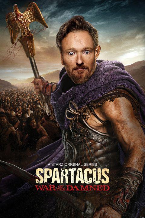 Conan O'Brien as Spartacus - BrunoSousa