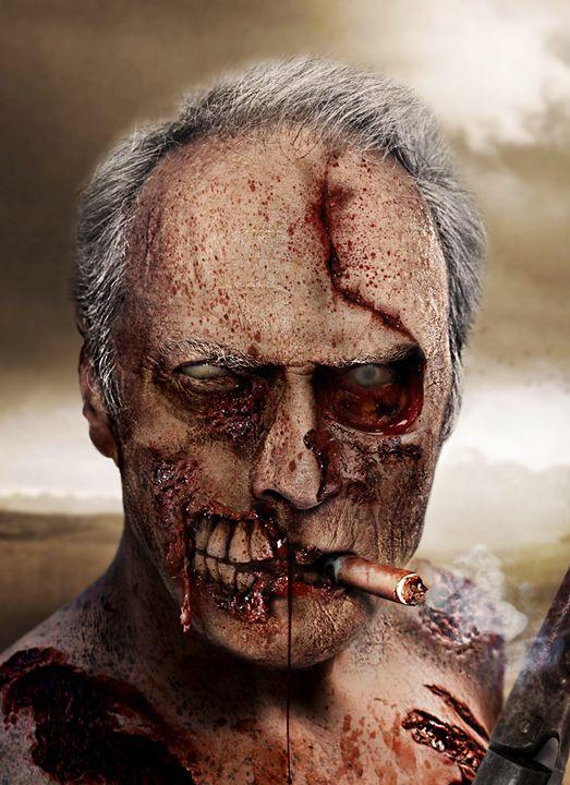 Clint Eastwood Zombie - BrunoSousa