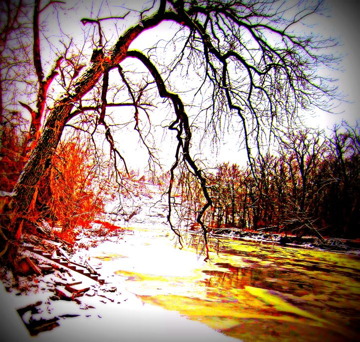 Rivers Edge - Expressive Images