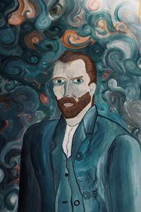 Reproduction of a Van Gogh