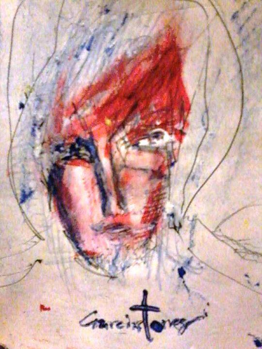 disturbed self portrait - Alejandro Garciatorres Barrera
