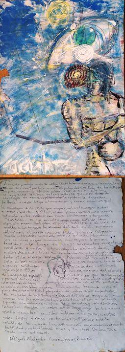 cosmos intruyendo en mi habitación - Alejandro Garciatorres Barrera