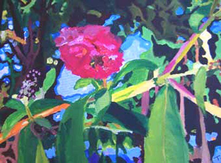 pink rose - The art of Temeisha