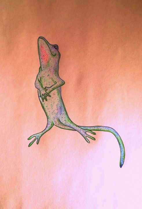 happy lizard's rosy dawn - Artsiesfm