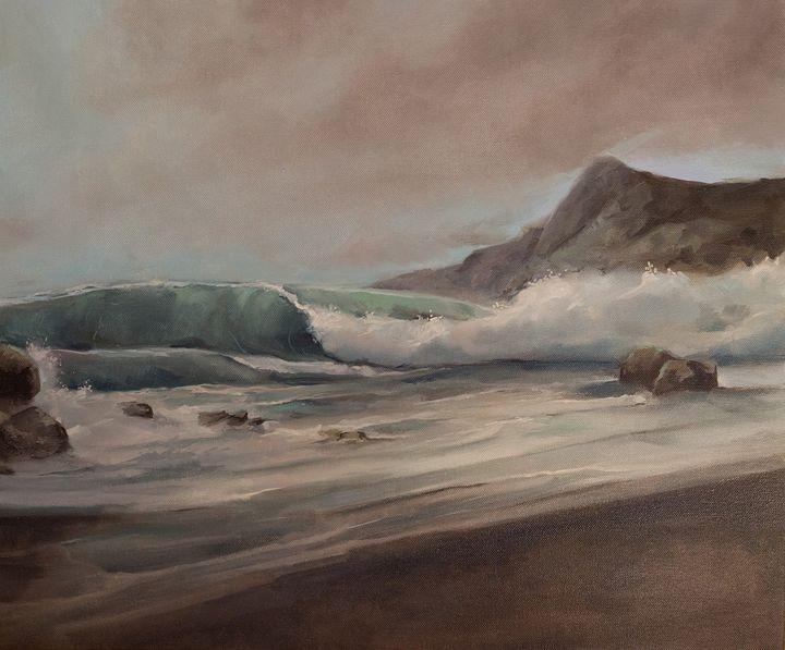 Oil painting Seascape - ZhannaZakharchenko