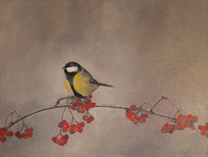 Oil painting Bird - ZhannaZakharchenko