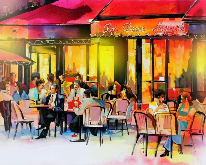 Café français - Ira Tsantekidou