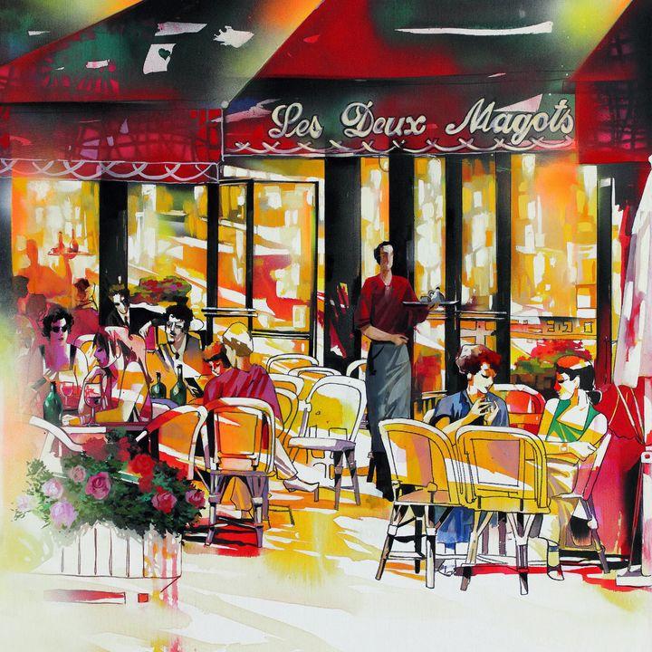 Cafe Paris 2 - Ira Tsantekidou