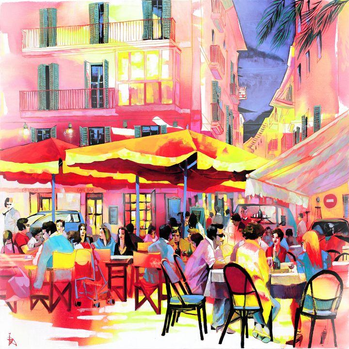 Café in Palma - Ira Tsantekidou