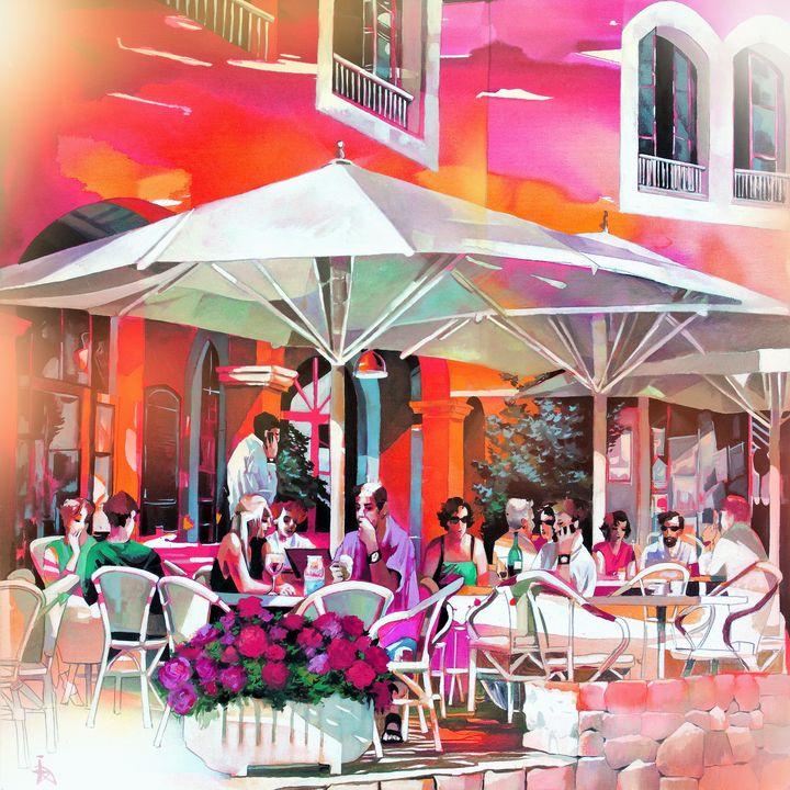 Cafe im Hafen - Ira Tsantekidou
