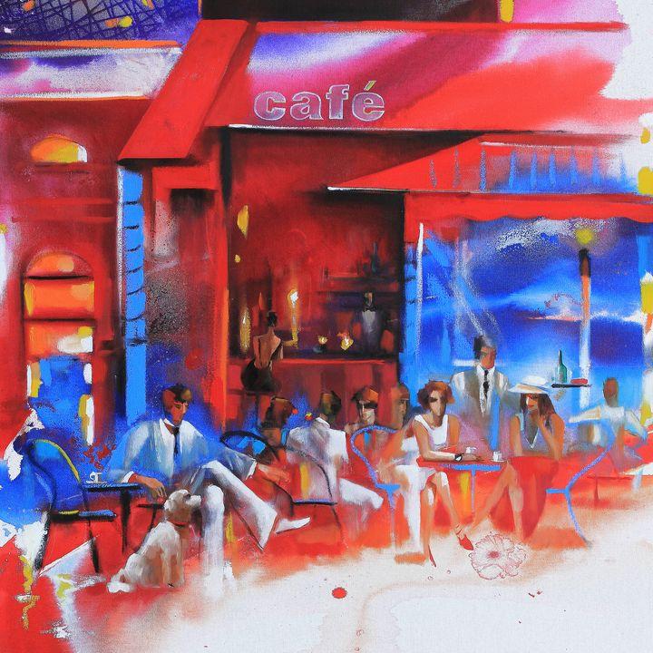 Cafe Paris 3 - Ira Tsantekidou