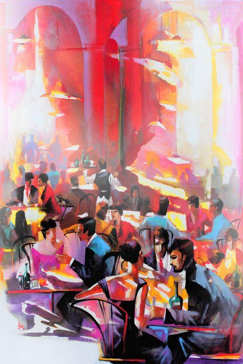 Cafe in Vienna - Ira Tsantekidou