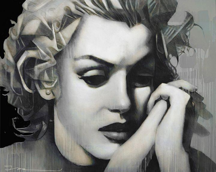 Marilyn Dreams, version 14 - Ira Tsantekidou