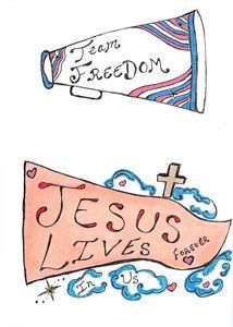 Jesus Lives In Us Forever
