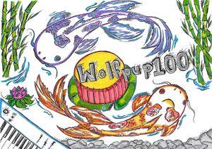Wolfpup100- K