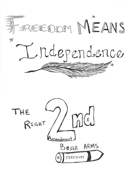 Freedom Means Independence - Ordinary Art