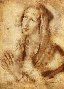 Virgin Mary Leonardo Da Vinci style