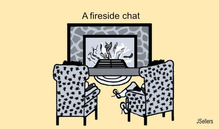 A Fireside Chat - Tweetylynn Designs