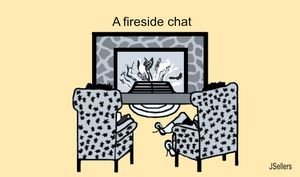 A Fireside Chat - Tweetylynn Designs