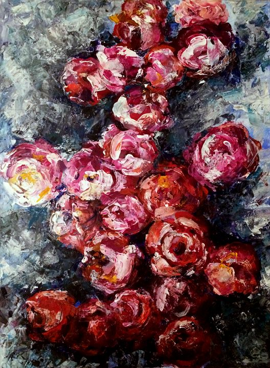 Beauty of roses - Elena Magayskaya