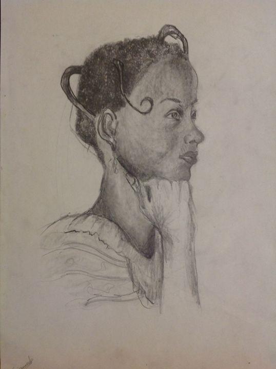 African woman - Siranoosh