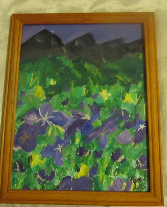 Majestic Mountain Painting - Random Wishes
