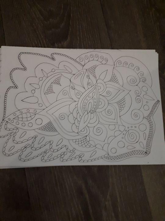 Rose enchantée - Paradis des Elfes et des Dragons