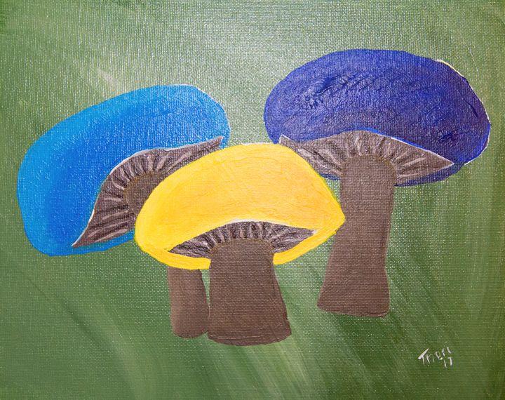 Mushroom Trio - Barefoot Kid