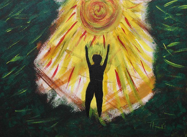 Self Salutation - Barefoot Kid