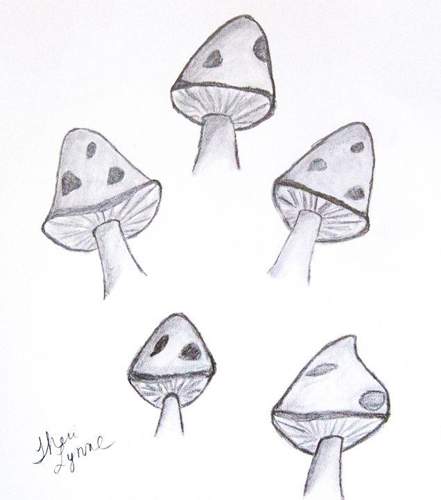 Mushroom Study - Barefoot Kid