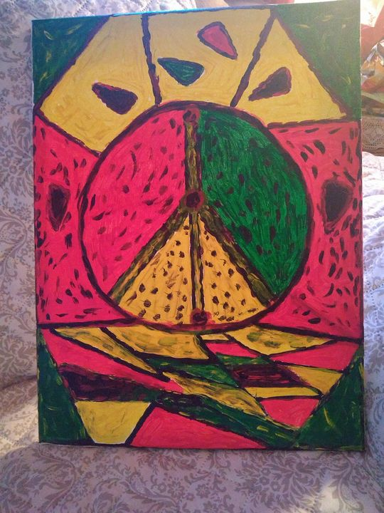 Peace sign - Theresa's unique gallery