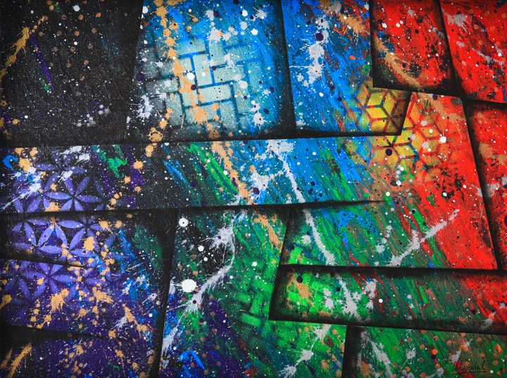 Infinity war - Ali Coull - Abstract Art