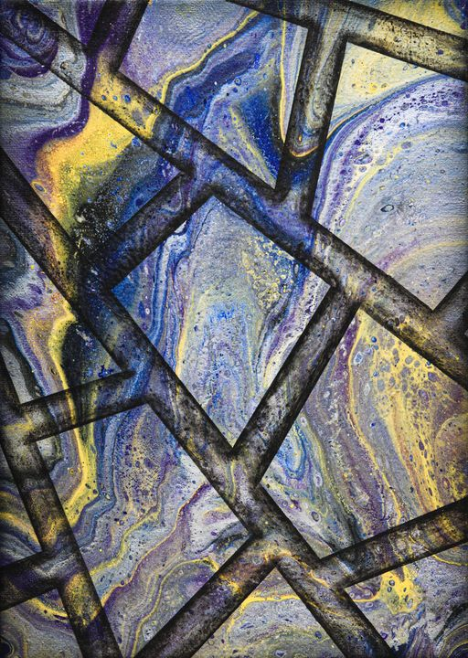 Marble flow - Ali Coull - Abstract Art