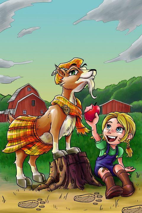 Cartoon characters (animal/child) - Remyart's work