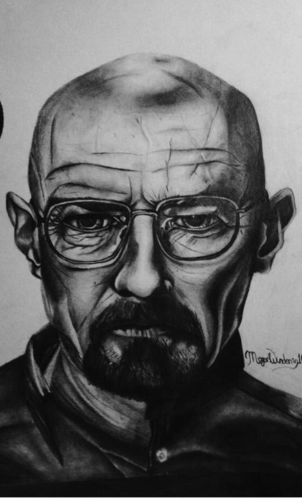 Walter White - Megan Marie's Artwork