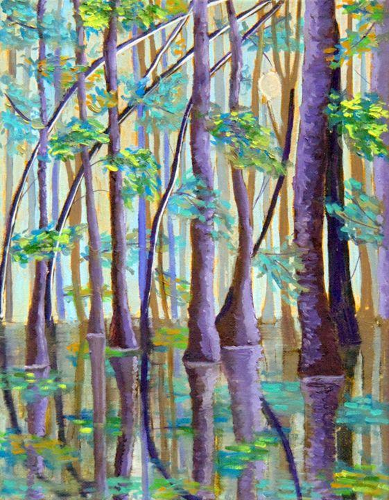 Trees in the Water - Regina Tsaliovich