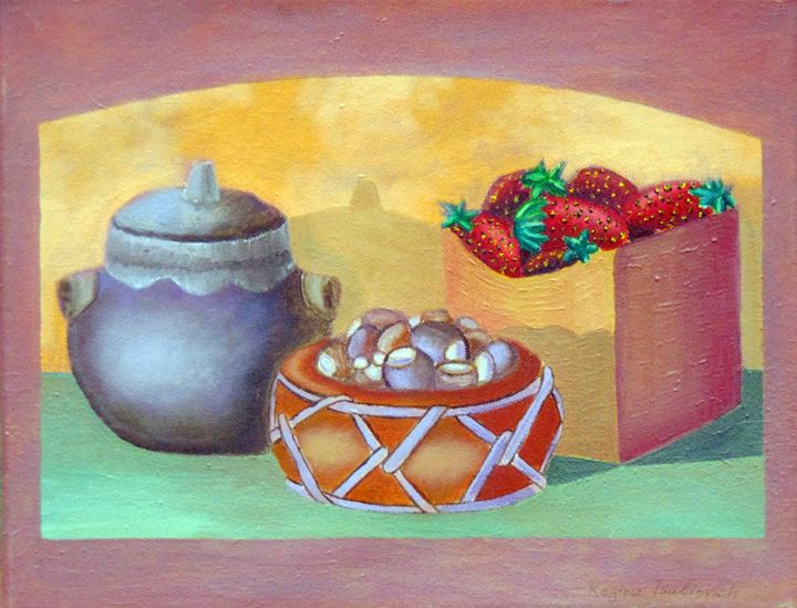 Strawberries - Regina Tsaliovich