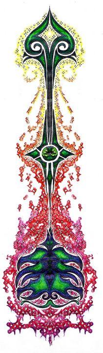 flaming fantasy arrow - Maili J McQuaid