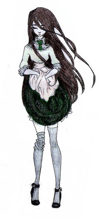 Anime style girl - Maili J McQuaid