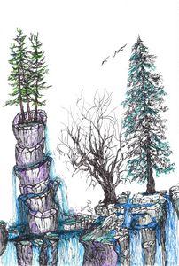 """Waterfall fantasy"""
