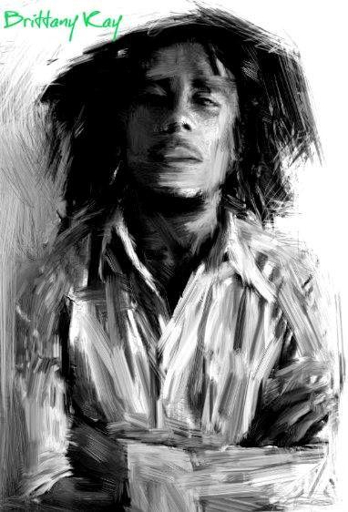 Bob Marley - Brittany Kay Art