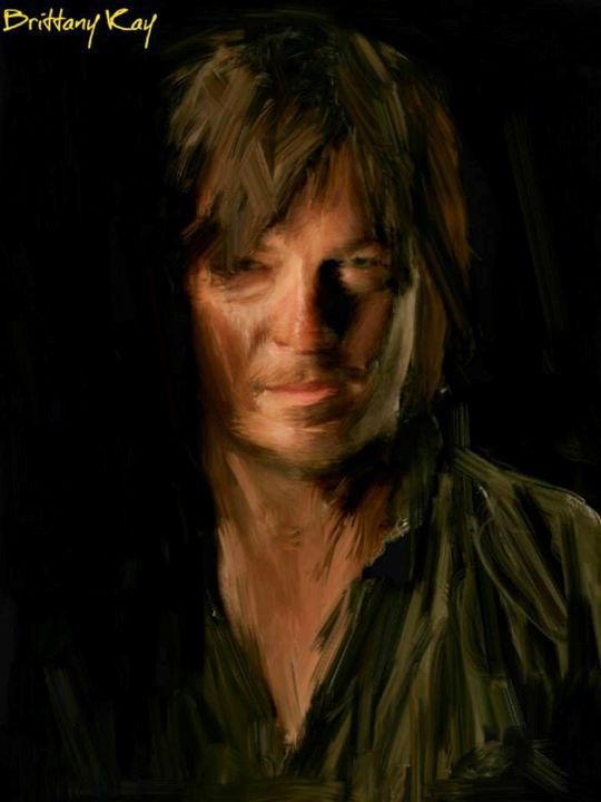 Daryl Dixon - Brittany Kay Art