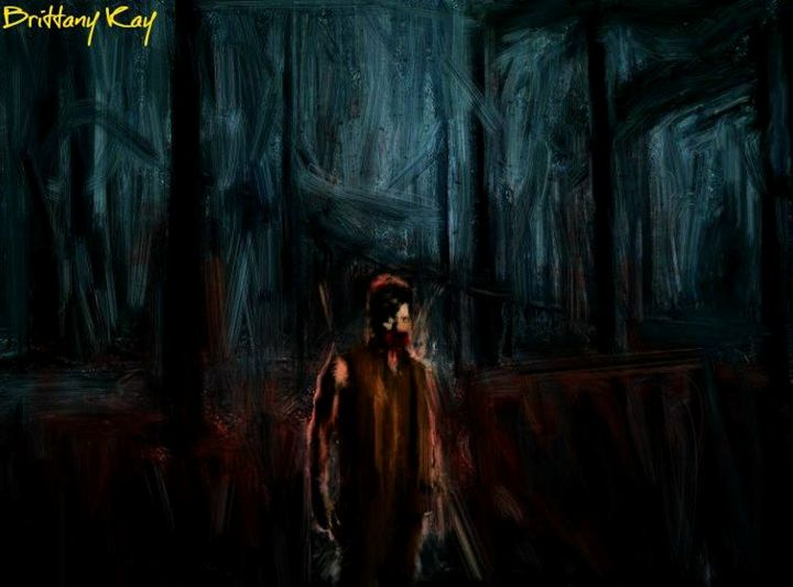 Zombie Daryl Dixon - Brittany Kay Art