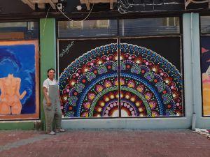 Window Art Mandala