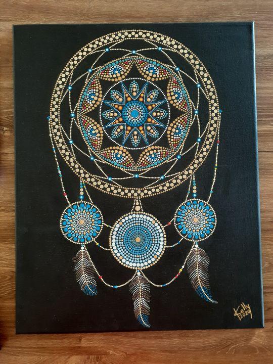 Dream Catcher Mandala - kelly G